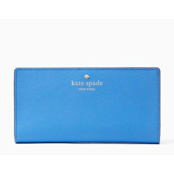Harga Kate Spade Mikas Pond Stacy Wallet (Alice blue)