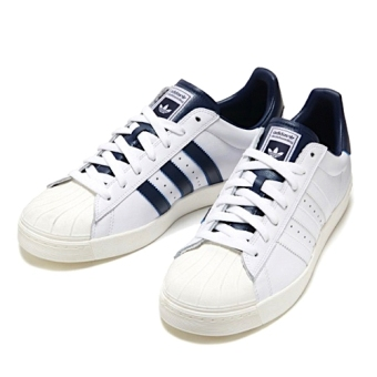 Harga ADIDAS SUPERSTAR VULC ADV SKATE SHOES (White & Collegiate Navy)
