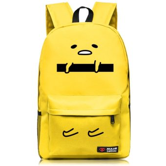 Harga Show luo gudetama couch potato egg mayo mayo brother king backpack second element expression package around the bag (Yellow face)