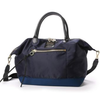 Harga Original Japan (anello x legato largo) 3 way tote bag should bag hand bag(Large size, Navy color)