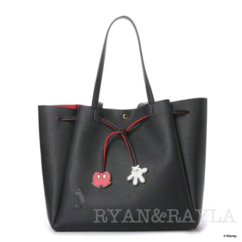 Harga Samantha Thavasa x COLORS by Jennifer Sky Disney Limited Collections Mickey Mouse Tote bag ( BLACK color)