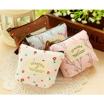 Harga Flower Pink Coin Pouch
