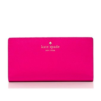 Harga Kate Spade Mikas Pond Stacy Wallet (Sweetheart pink)