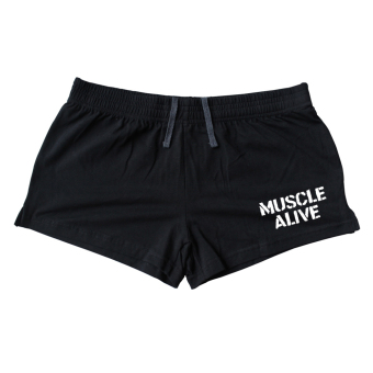 "Harga Muscle Alive Gym 3"" Inseam Shorts Men Bodybuilding Workout Male Sports Shorts"