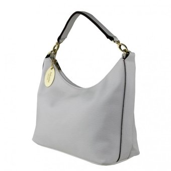 Harga Perllini and Mel Leatherette Medium Hobo Bag (White)