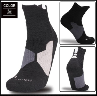 Harga Elite Mid-Cut Sports Socks (Black)