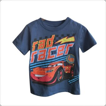 Harga Disney Pixar McQueen (Rad Racer) Short Sleeved T-Shirt