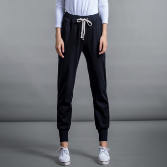 Harga MM New style female pants HarLan pants loose sports pants (Black (conventional)) (Black (conventional))