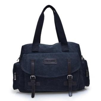 New Men Canvas Tote Bag Korean Practical Travel Bag Multifunction