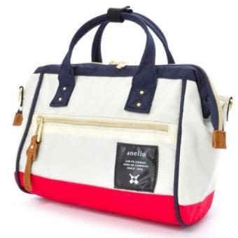 original anello 2 way boston bag shoulder bag (mini size, Tricolor color)