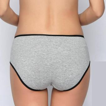 Pregnant Women Soft Cotton Underwear Breathable Belly Support Panties - intl - 2