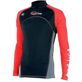 Rashguard Red Night Men Long Sleeves
