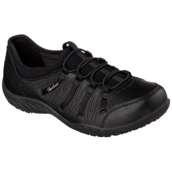 Harga Skechers Woman Work Relaxed Fit: Rodessa Slip Resistant (Black)