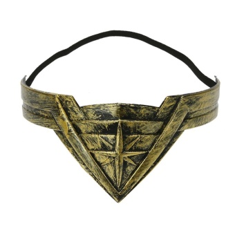 Harga Wonder Woman Cosplay Performance Accessory Hair Clasp Hair Band - intl
