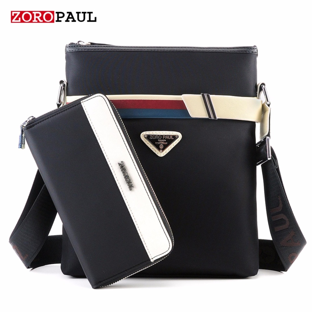 ZOROPAUL 2017 New Fashion Business Oxford Designer Handbags Men's Messenger Bags+wallet - intl