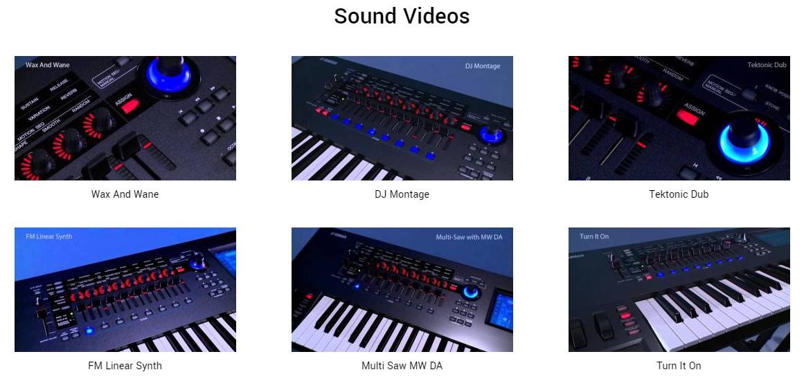 montage 7 sound videos