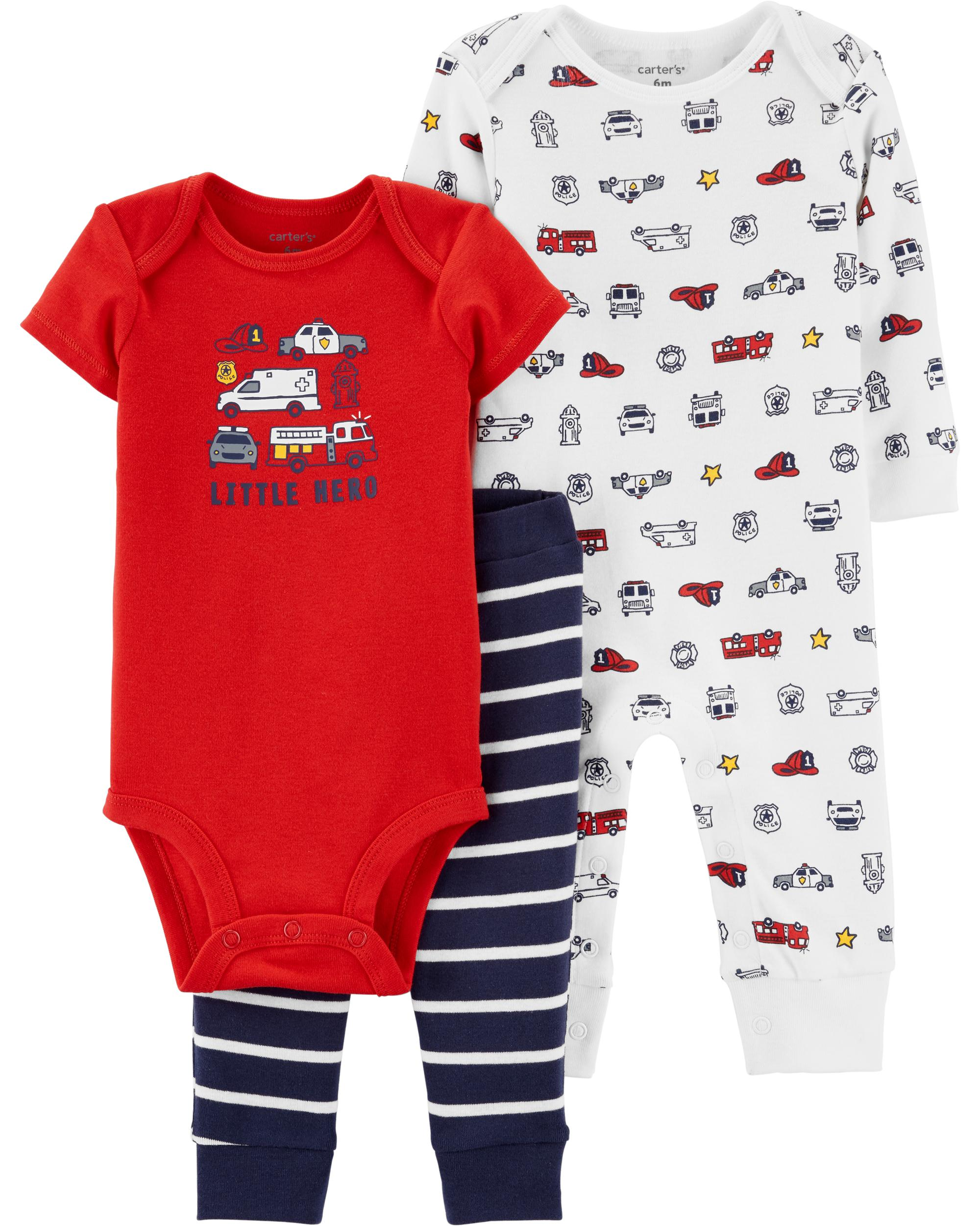 Carter/'s baby girl infant 4 Pack Body Stretch 100/% coton 24 mois