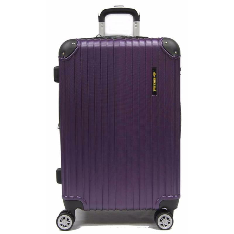 28 inch Large ABS Expandable Luggage with 8 Spinner Wheels and TSA Lock