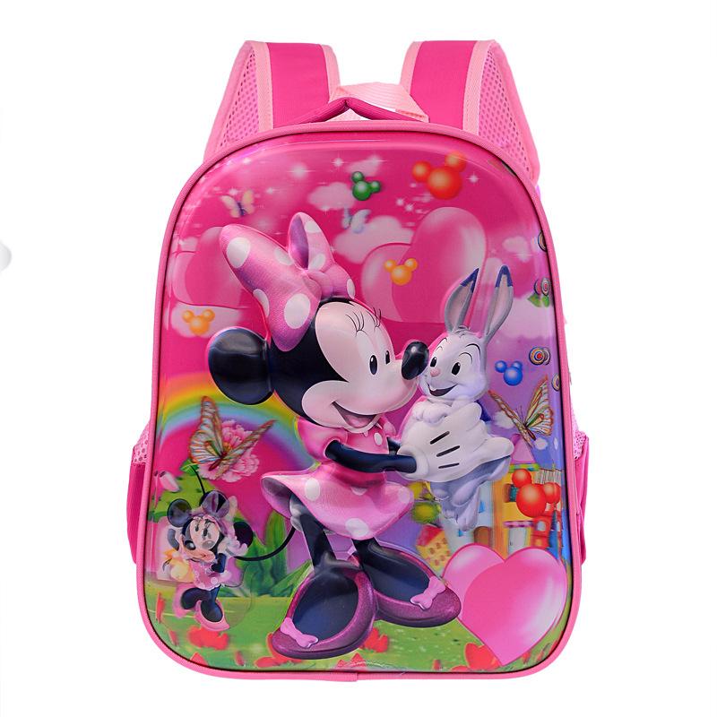 3D stereo Altman children's school bags Dora men and women shoulder bag 5D Barbie cable Sophia princess Children School Bags