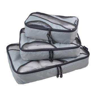 Ajusen Packing Cubes - 3pc Set Travel Large Packing Cubes - intl - 3