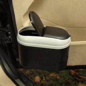 Auto Car Trash Rubbish Can Garbage Dust Dustbin Box Case Holder Bin Hook - intl - 2