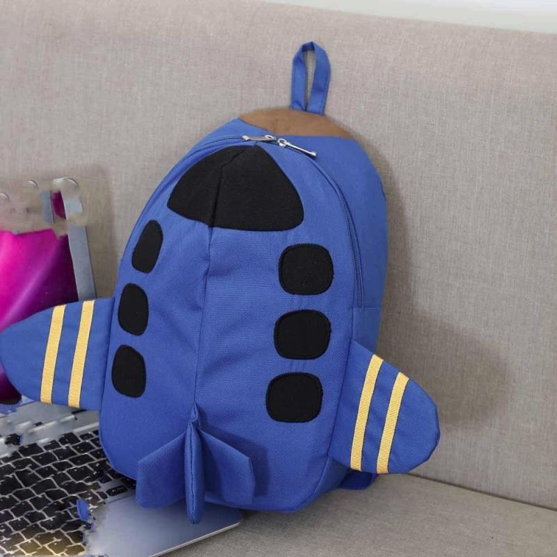 Baby Boys Girls Kids Plane Pattern Animals Backpack Toddler School Bag - intl