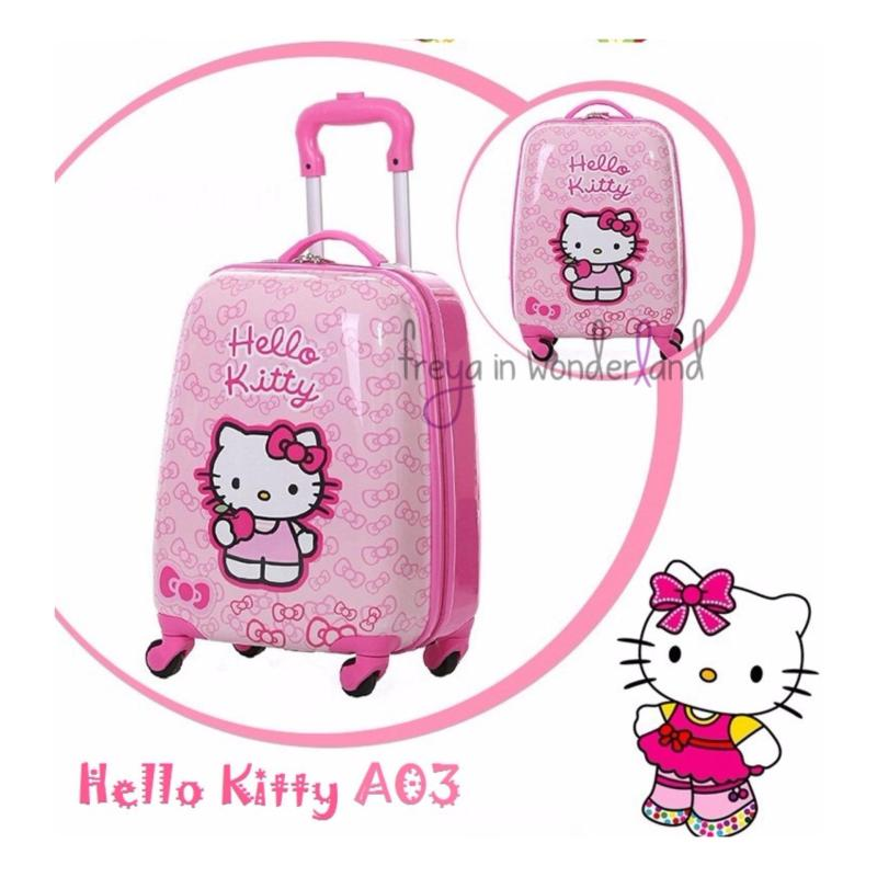 Cartoon Cute Suitcase Hello Kitty A03 Design