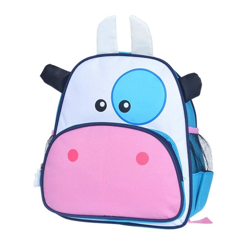 Children Babies Kids Cartoon Cow Shape School Bags Backpack Rucksack Satchel