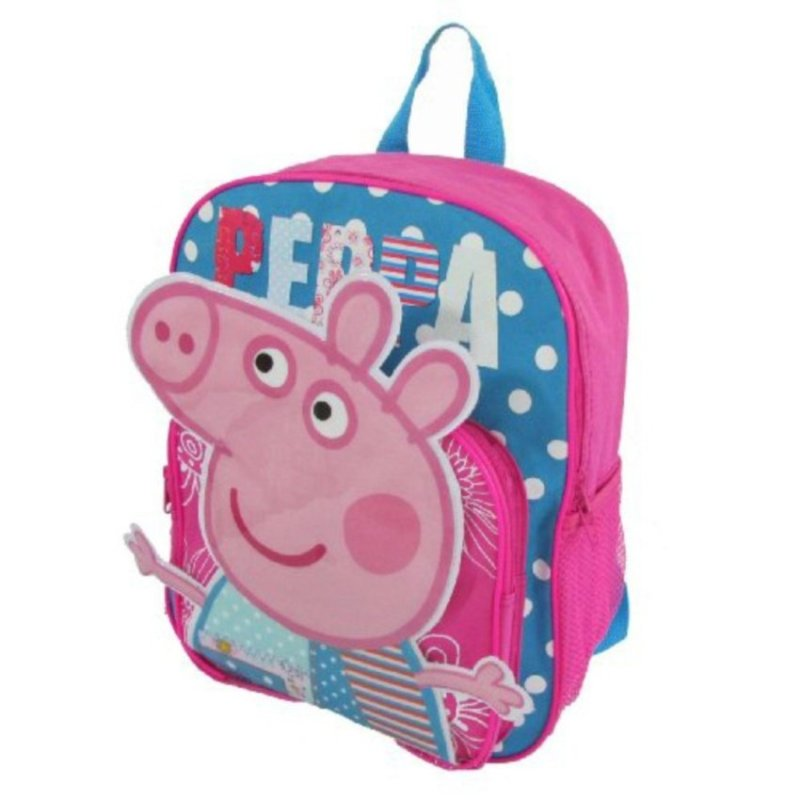 Children Peppa Pig Backpacks Cartoon Bookbag - intl