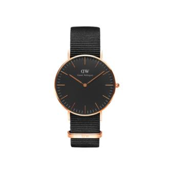 Daniel Wellington Classic Black Cornwall 36mm RG