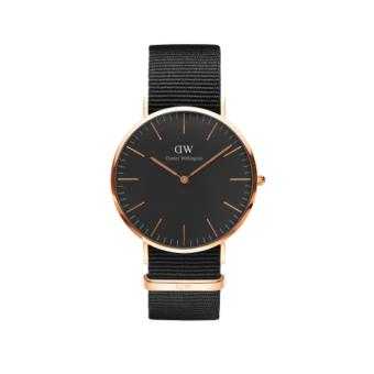 Daniel Wellington Classic Black Cornwall 40mm RG