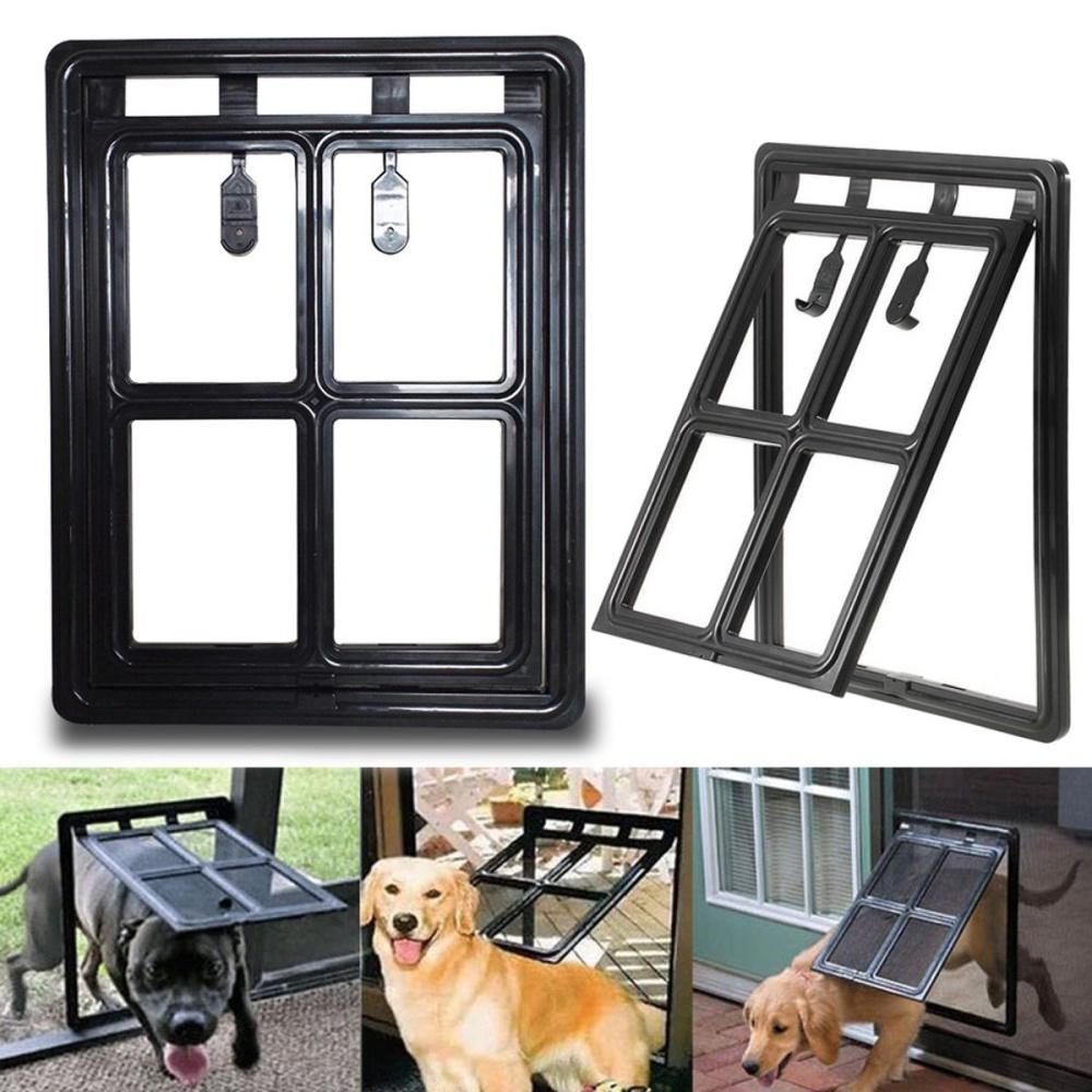 Dog Cat Pet Screen Door Gate Way Window Security Screen Mesh Frame