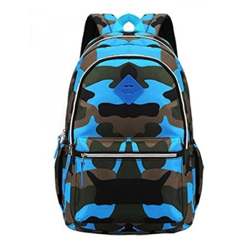 Fanci Grils Boys Backpack Camouflage Pattern Primary Student Daypack - intl
