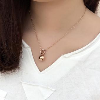 Fashion female titanium steel choker necklace