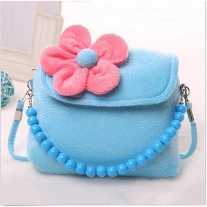 Handbag Children Girls Kids Baby Princess Package MessengerShoulder Bags - intl