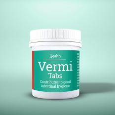 Husse Vermi Tabs 100% Natural Dewormer For Cats and Dogs 15 Pills Singapore