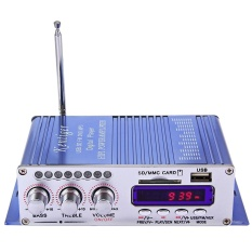 HY - 502 USB FM Audio Car Stereo Amplifier Radio MP3 Speaker LED Hi-Fi
