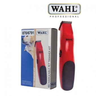 Harga WAHL 9916-1617X Rechargeable Pet Trimmer Kit for cats and Dogs of all sizes with 6 position guide comb