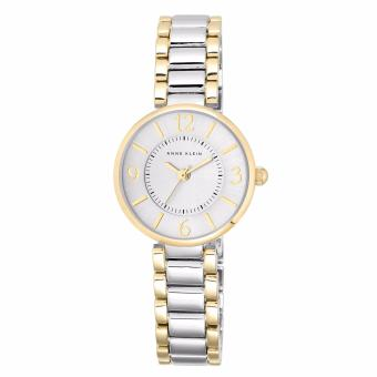 Harga Anne Klein Woman's Two Tone (AK1871SVTT) - Gold Tone Ceremic Bracelet
