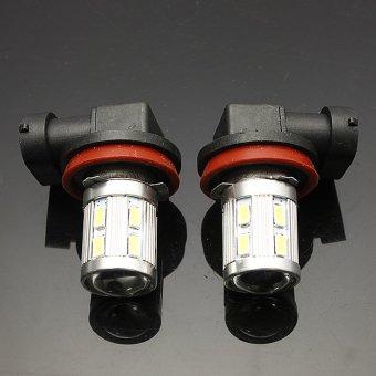UJS 2X H11 6000K 5630 Chip XBD LED Car Fog Light Bulbs Lamp Xenon 13 SMD White - 3