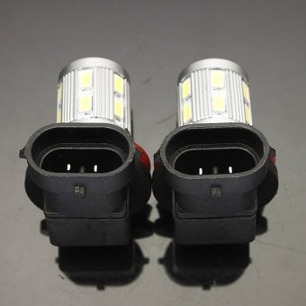 UJS 2X H11 6000K 5630 Chip XBD LED Car Fog Light Bulbs Lamp Xenon 13 SMD White - 4