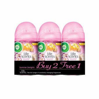 Air Wick Summer Delights Value Pack (2 x 250ml + 250ml)