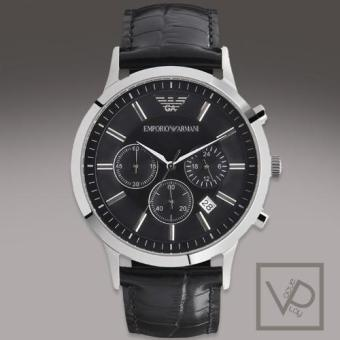 Harga Emporio Armani Black Dial Chronograph Men's Watch AR2447