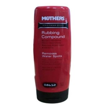 Harga Mothers Professional Rubbing Compound 12oz-US - Removes Water Spots