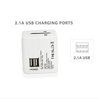 Universal Travel Adaptor with 2 USB Ports - intl - 4