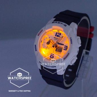 Casio Baby-G BGA-230 Series Navy Blue Resin Band Watch BGA230SC-7B - 4