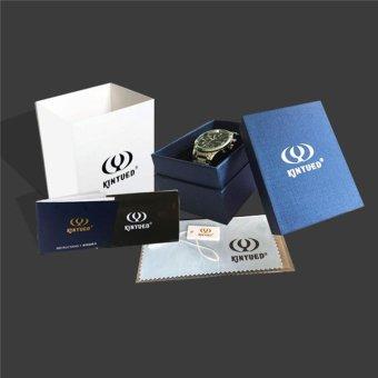 KINYUED Brand Tourbillon Mechanical Watch Men Stainless White - intl - 4