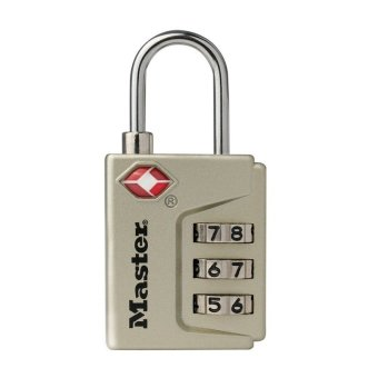 Harga Master Lock 4687DNKL Luggage Lock (Gold)