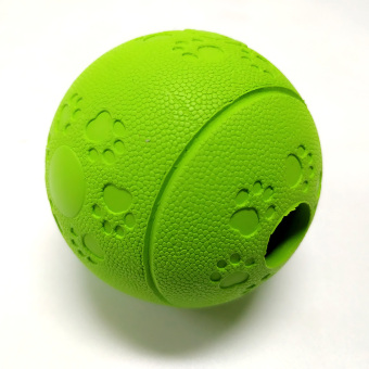 Harga PAWOOF Premium Dog Fetch Balls & Treat Balls for Dog Training Exercise & Play Green
