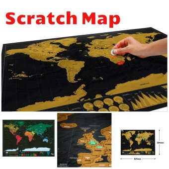 Harga Luxury Scratch Map